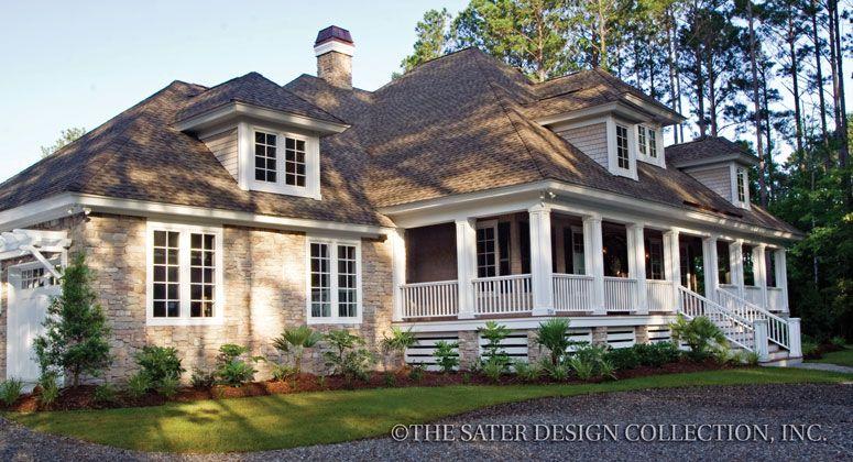 Oak Island House Plan Oak island Elevation plan and House