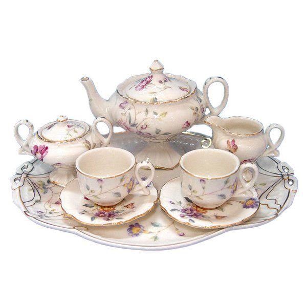 childs tea set tea set is what every little girl must have i remember those days pinterest. Black Bedroom Furniture Sets. Home Design Ideas