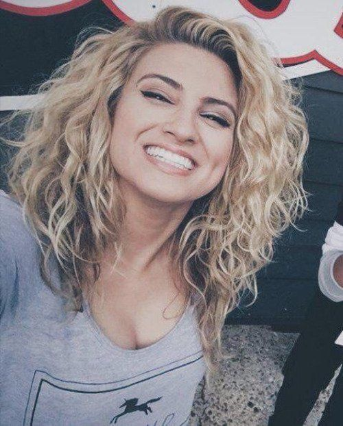 Medium Length Curly Hairstyles … | Pinteres…