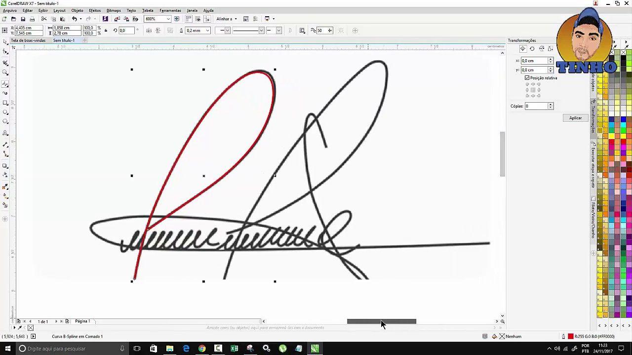 Assinatura Digital No Corel Draw Tutorial Com Imagens