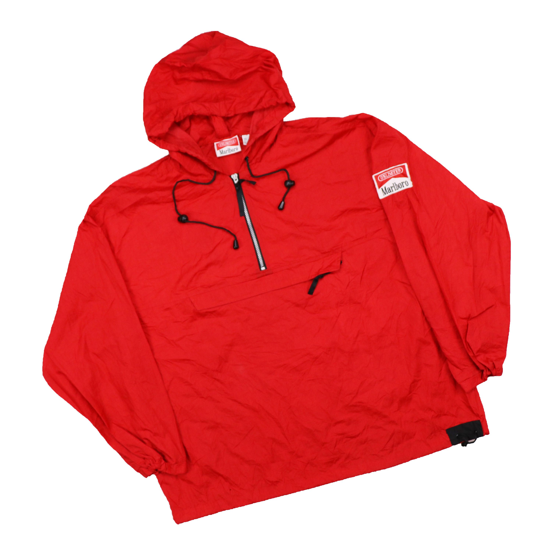 ad96099892c3 Vintage 90s Marlboro Windbreaker Hoodie Jacket by HITZSHOP on Etsy ...