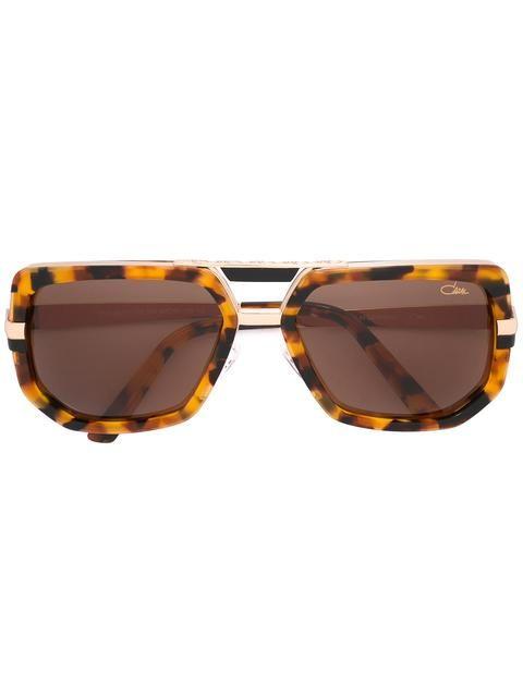 CAZAL 톨토이즈 쉘 효과 프레임 선글라스.  cazal  sunglasses. Lunettes De Soleil Cazal aec06d377d82