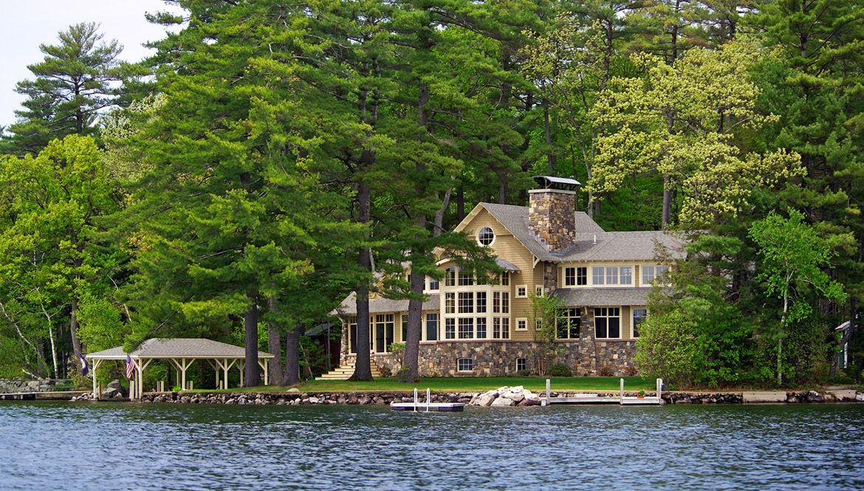 Winnipesaukee Escape Lakefront homes, Dream house