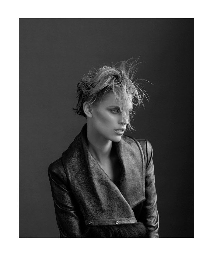 Jade Jackson in Emporio Armani by Stephen Ward for <i>Russh</i> #42