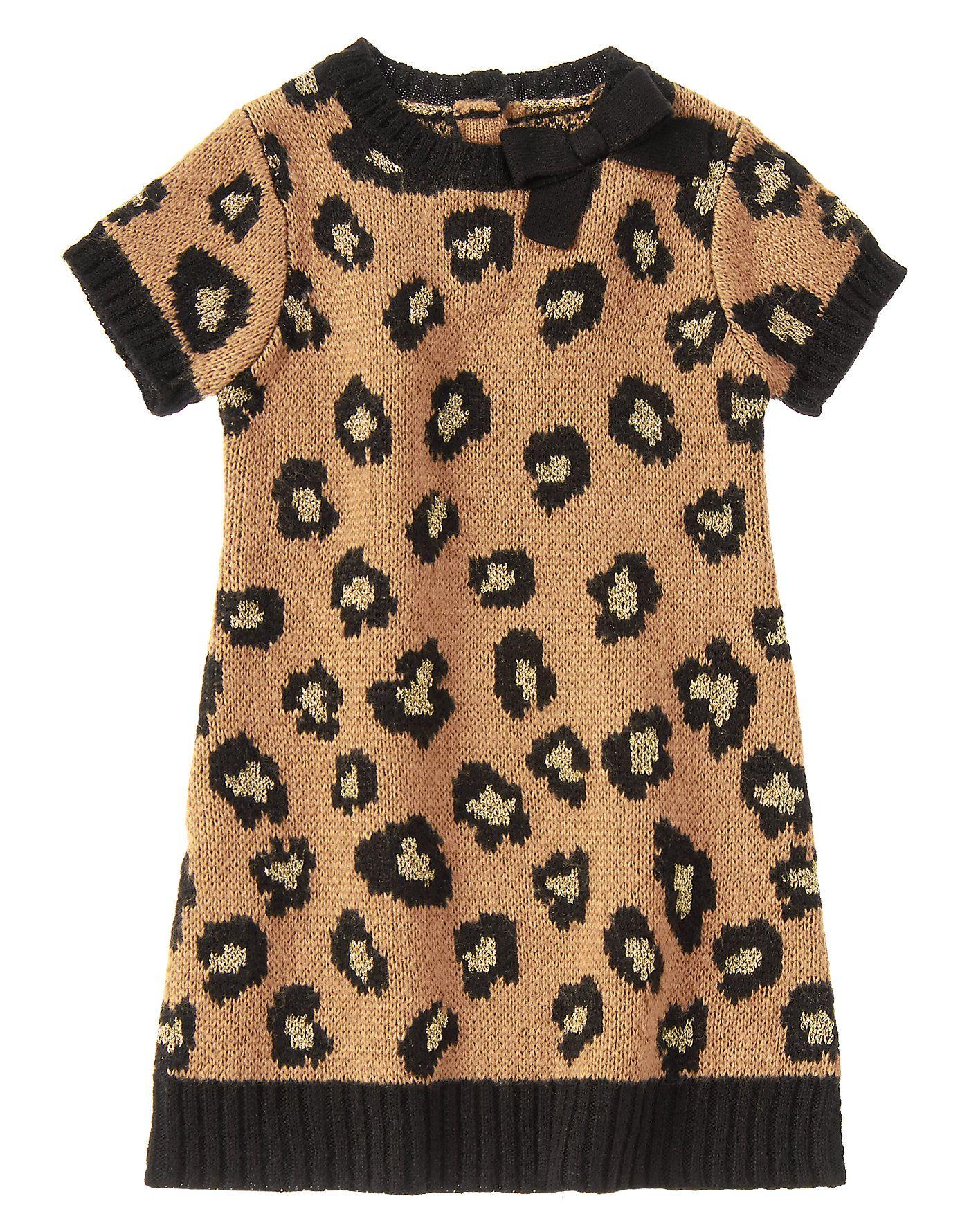 d83f97def27 Leopard Sweater Dress at Gymboree (Gymboree 3m-5T)