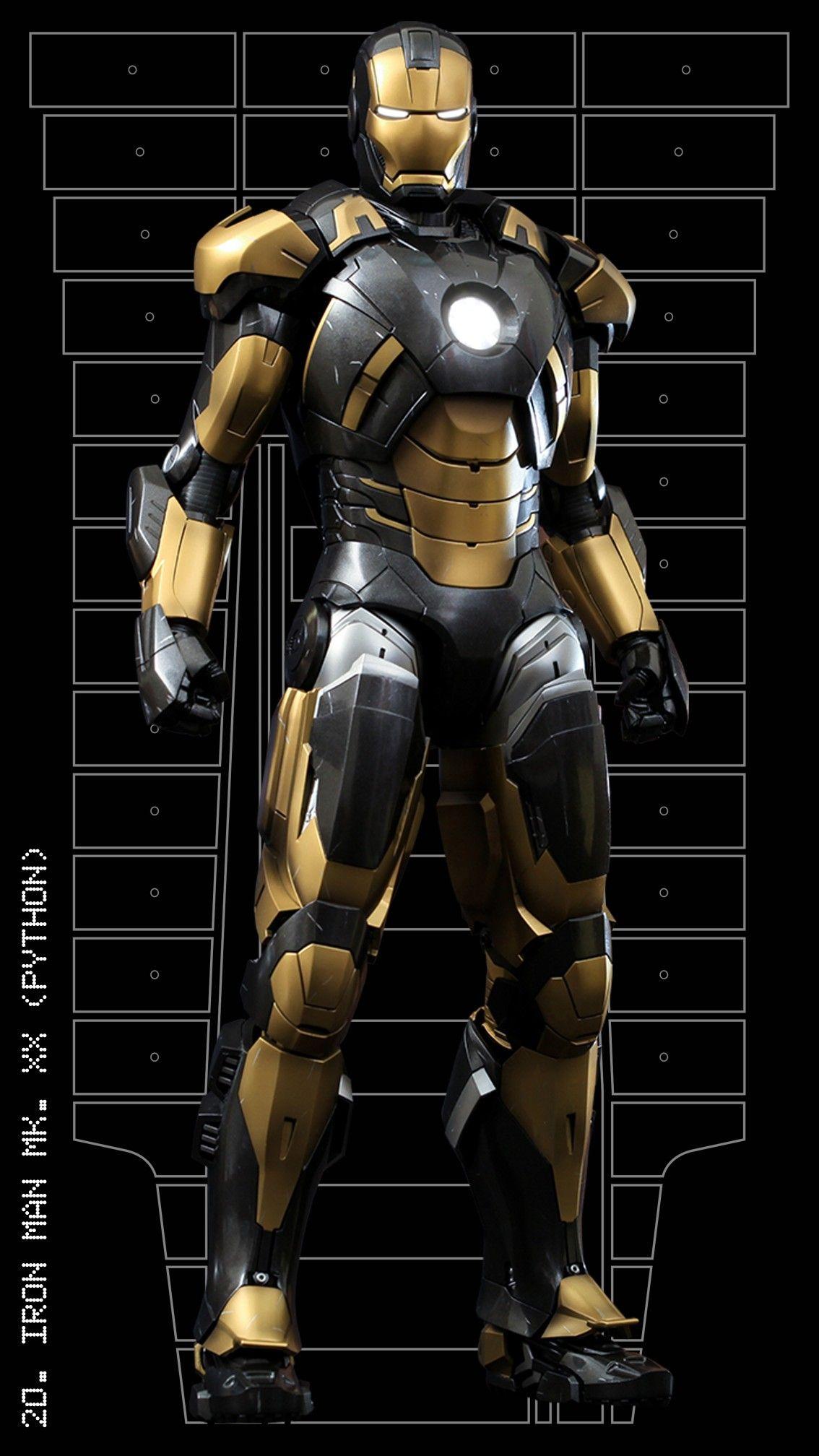 Iron Man Mark Xx Python Iron Man Iron Man Iron Man Armor Hot