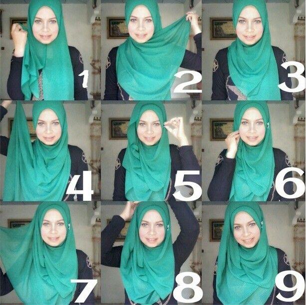 Hijab Tutorial Hijabstyle Hijab Fashion Inspiration Hijab Style Casual Hijab Style Tutorial