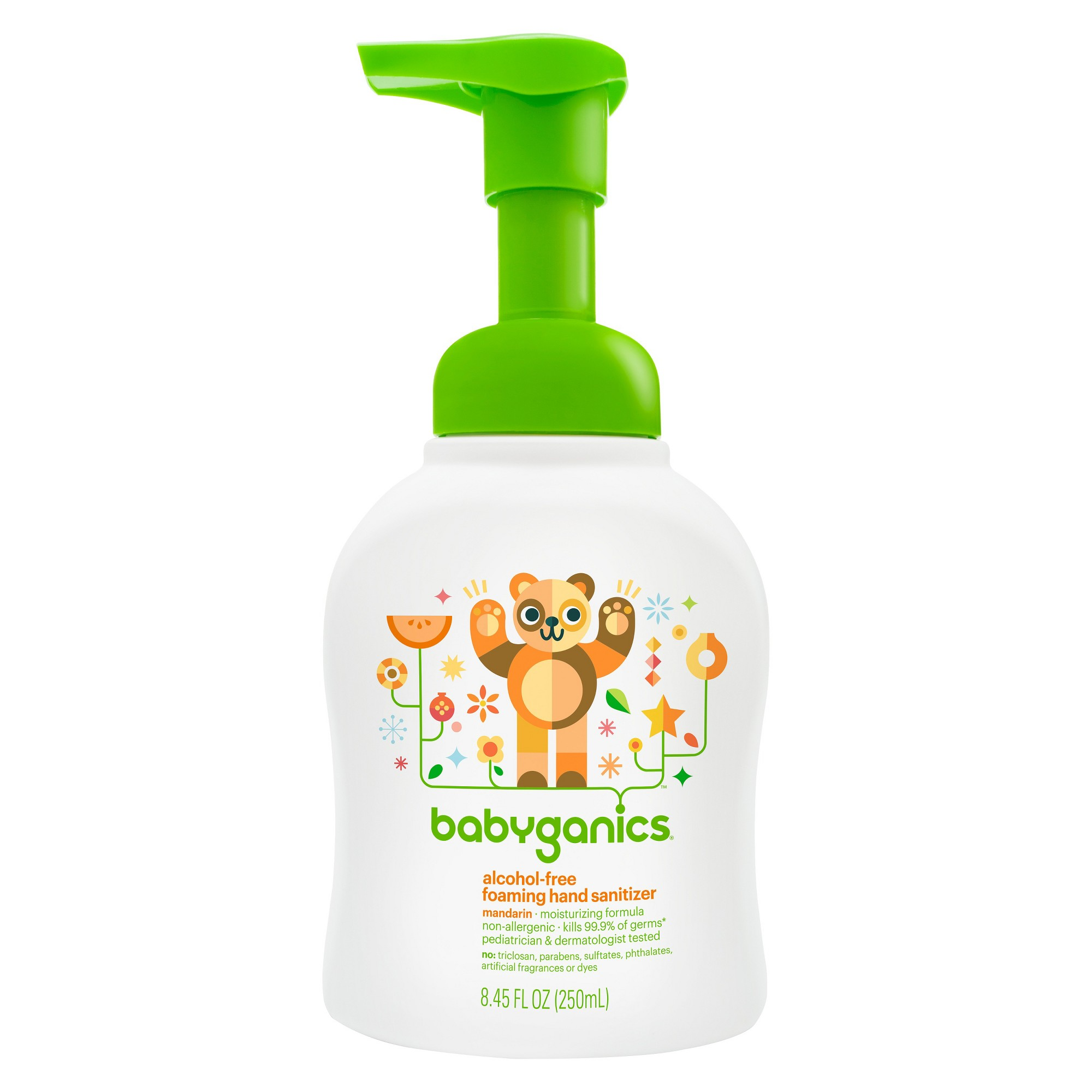 Babyganics Alcohol Free Foaming Hand Sanitizer Mandarin 8 45oz