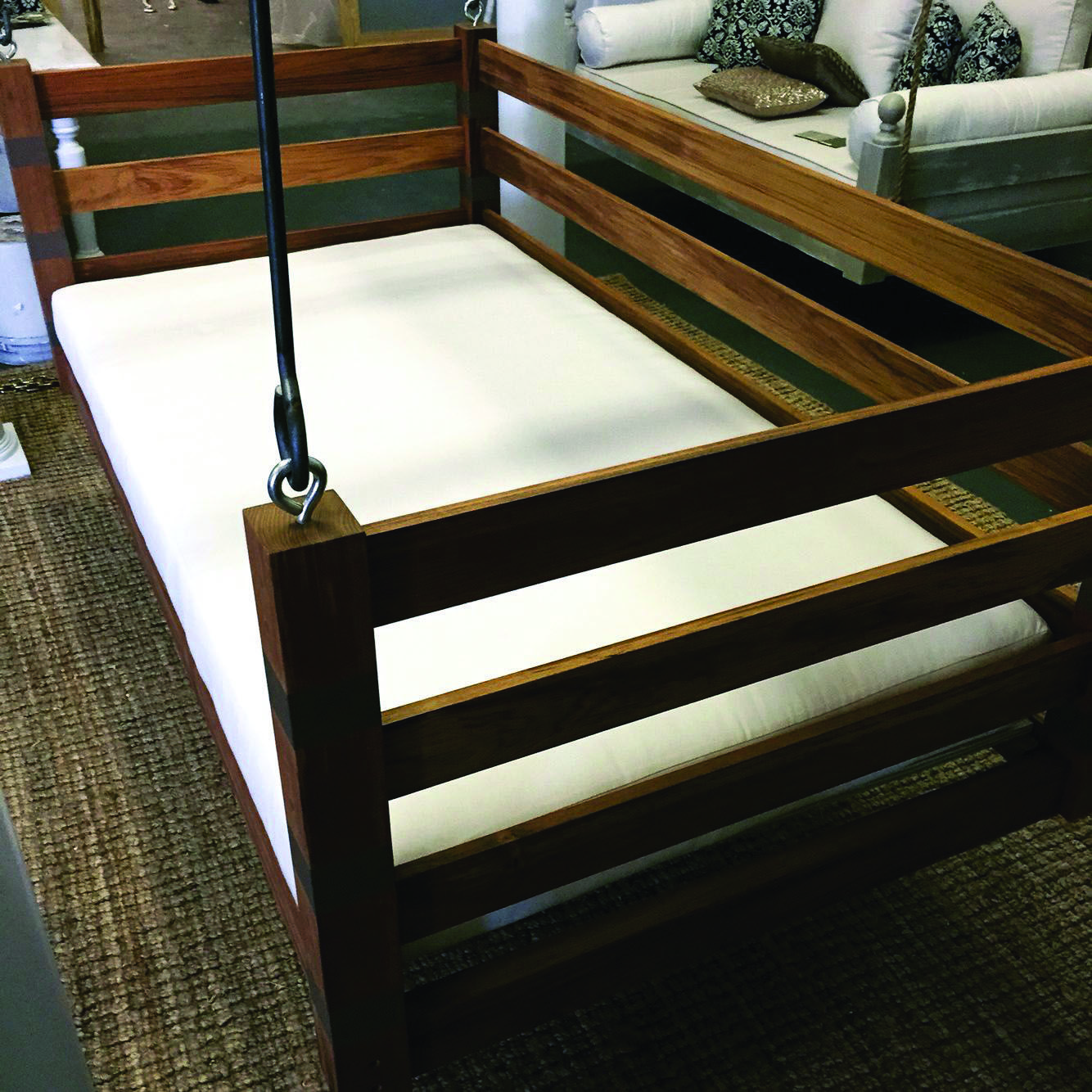 Free Do It Yourself Patio Swing Plans Suggestions To Chill In Your Face Balcony Homes Tre Diy Porch Swing Patio Swing Diy Porch Swing Bed
