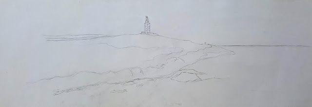 GOLOVIARTE y su mundo : Tres pasos para un cuadro de la torre de Hércules ...