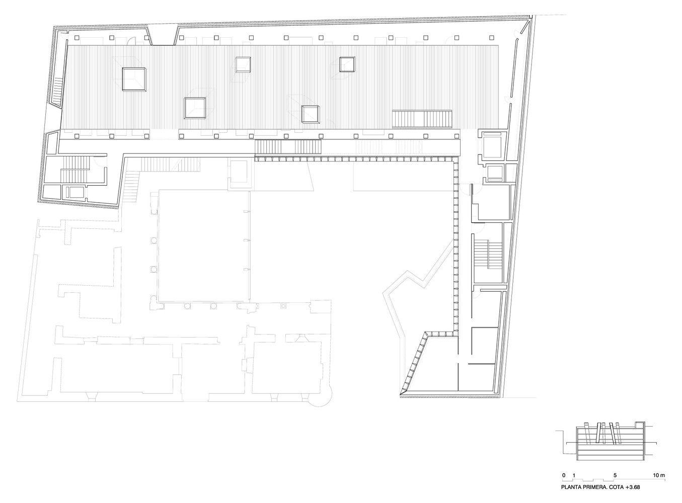 Galería de Museo Arqueológico de Vitoria / Francisco Mangado - 13