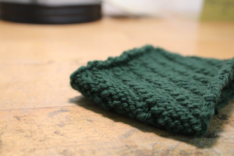Coffee sleeve handmade reusable knitted coffee sleeve