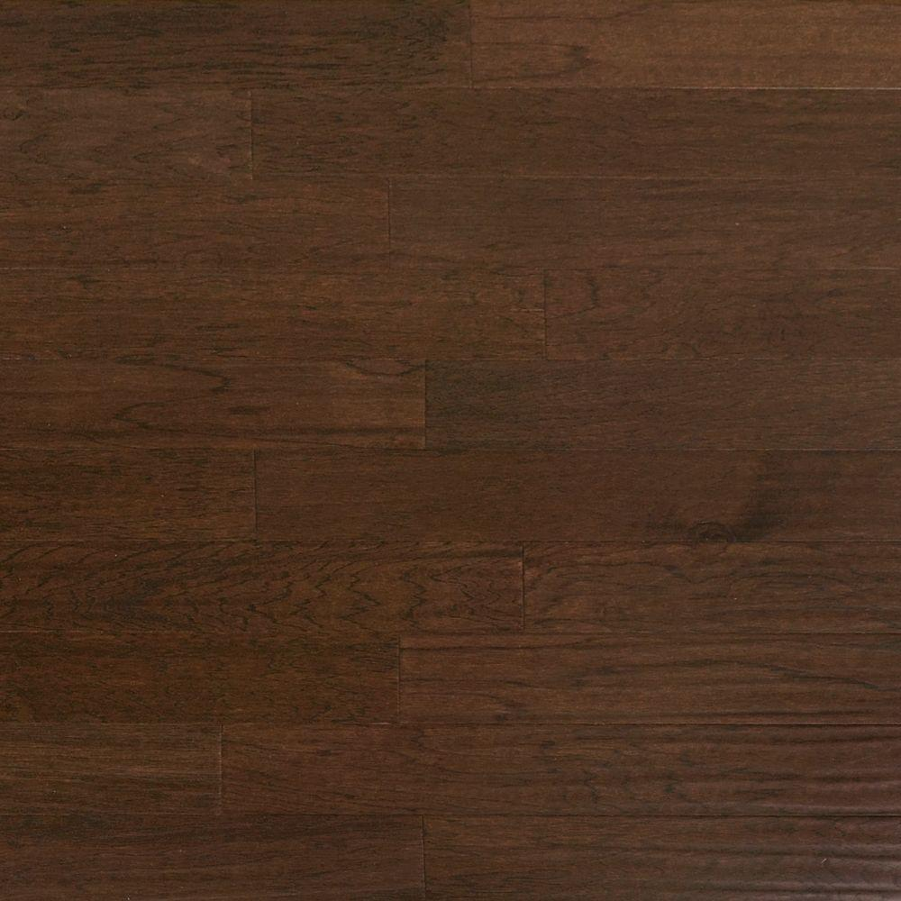 Heritage Mill Scraped Hickory Ember 1 2 In Thick X 5 In Wide X Random Length Engineered Hardwood Flooring 31 Sq Ft Case Pf9752 The Home Depot In 2020 Hardwood Floors