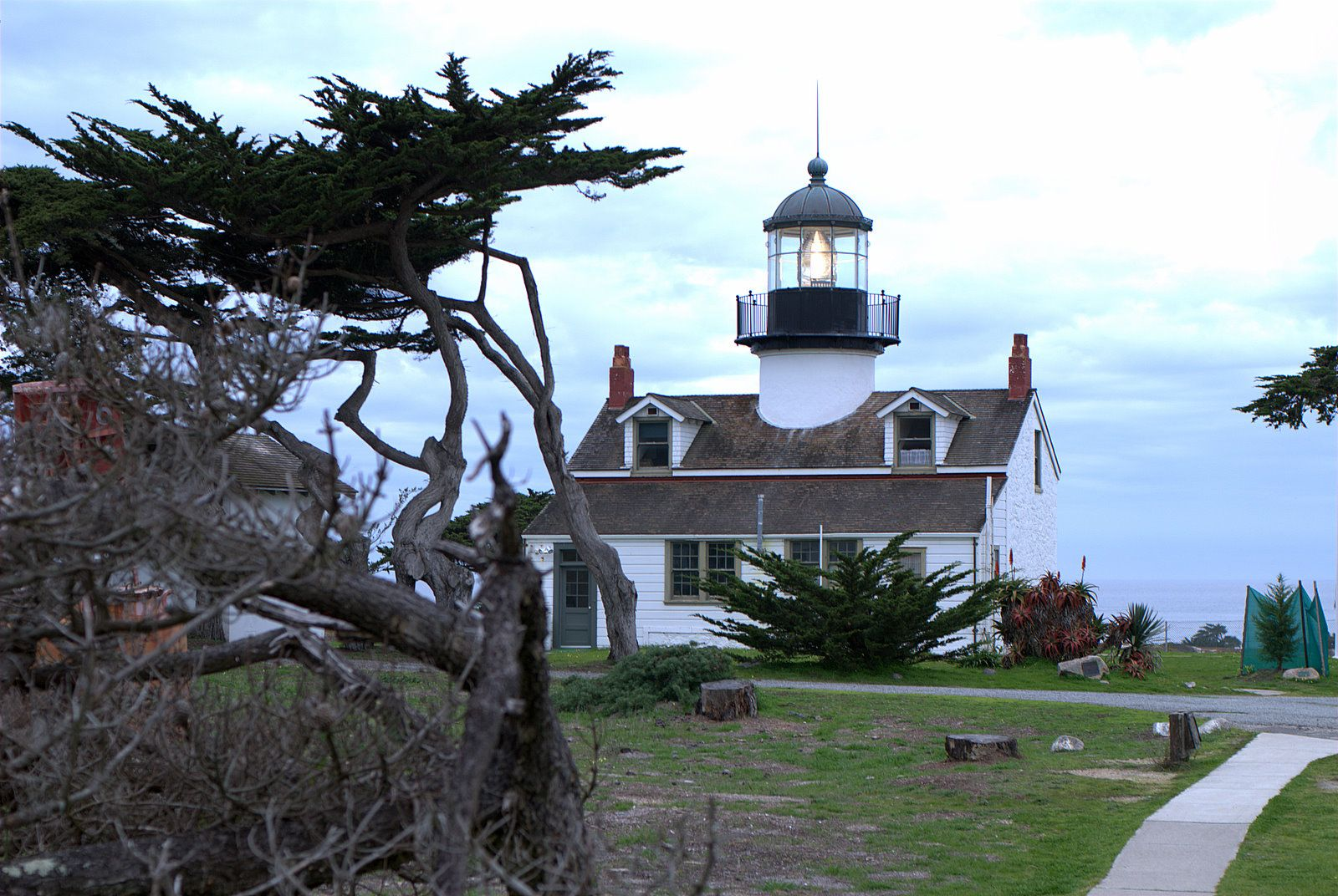 Pt. Pinos Lighthouse. Pacific Grove, CA. Home of Why Not Books. www.whynotbooks.com