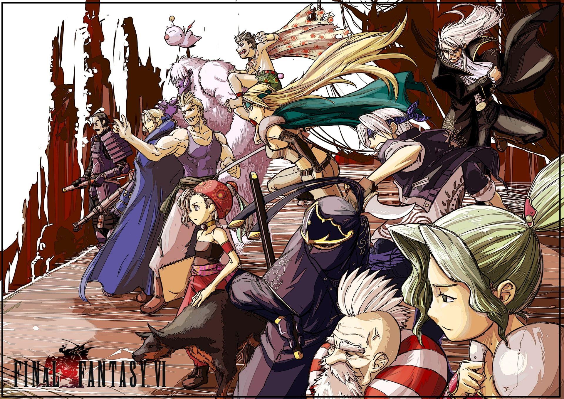 Final Fantasy Vi Video Games Final Fantasy Hd Art Final Fantasy Vi 1080p Wallpaper Hdwallpaper Desktop In 2020 Final Fantasy Vi Final Fantasy Art Fantasy Games