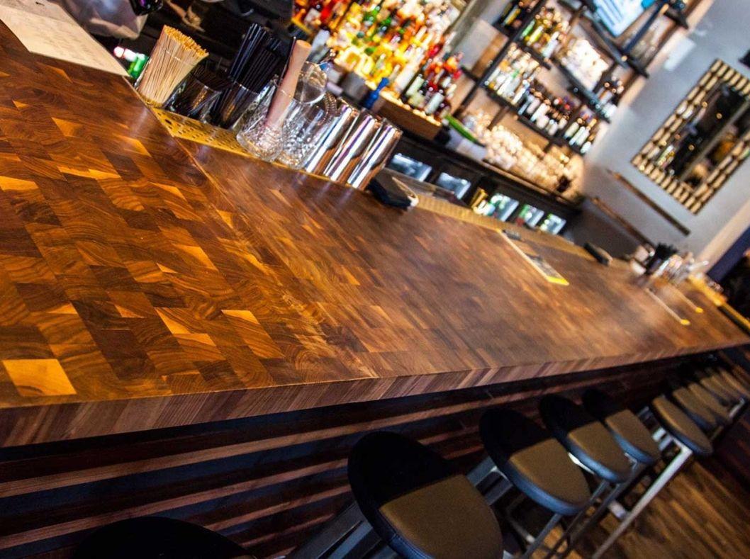 Home Mcclure Block Butcher And Hardwood Kitchen Counter Tops Walnut Custom  Wood Countertops