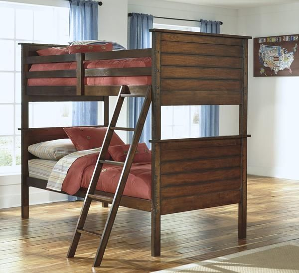 Ladiville Kids Twin Over Twin Bunk Bed Twin Bunk Beds Bunk Beds Bunk Beds With Stairs