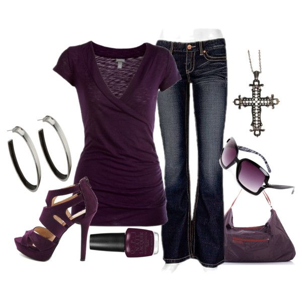 """""""Solid Color"""" by ljjenness on Polyvore"""