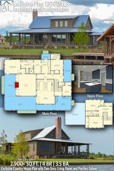 This is pretty much perfect put it on  basement modern house design also plan ck rustic with large outdoor living area and rh pinterest