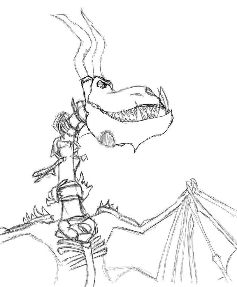 BoneNapper Sketch By Twilightzonegirl13