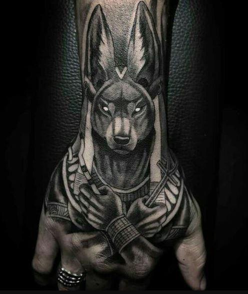 Tattoos For Men Hand Tattoos For Guys Anubis Tattoo Tattoos