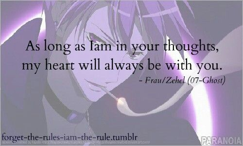 7 Ghost 07 Ghost Ghost Quote Anime Qoutes