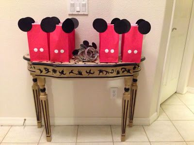 Mickey Party favor bags