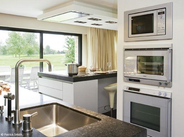 Electromenager Encastre Cuisine Cuisine Implantation Pinterest - Idee amenagement kitchenette pour idees de deco de cuisine