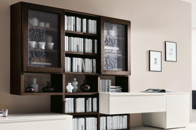 Mobile soggiorno moderno con vetrinette 554 dettaglio elementi vetrina inseriti nel sistema - Mobile vetrina moderno ...