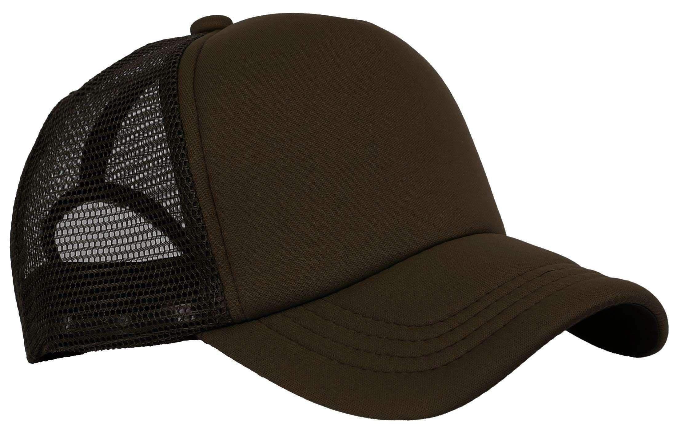 63ec5a707f9 Products · Plain Foam Mesh Baseball Cap