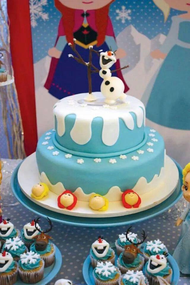 Idea para la torta frozen