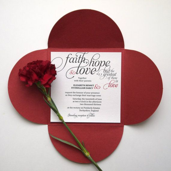 Calligraphy Bible Verse Calligraphy Wedding Invitation With Bible