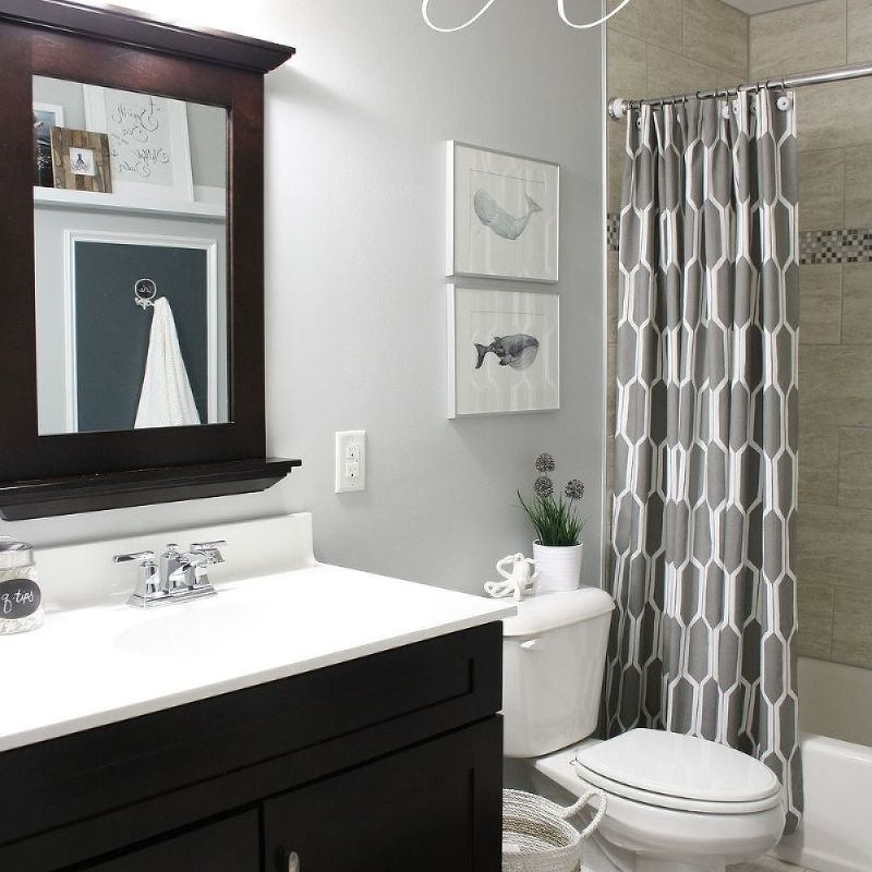 Shared Boys & Guest Bathroom | Bath, Kid bathrooms and Guest bath
