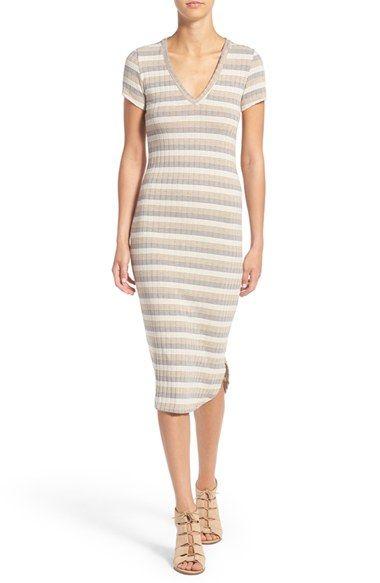 Free shipping and returns on jella c. Stripe Midi Dress at Nordstrom.com. A soft…
