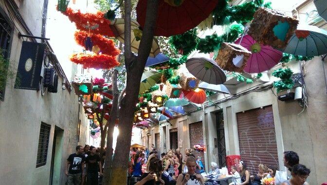 Fiestas de Gracia, Barcelona