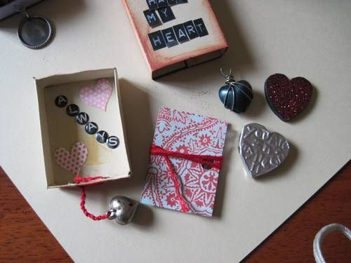 Matchbox Valentines Art Therapy Pinterest Match Boxes