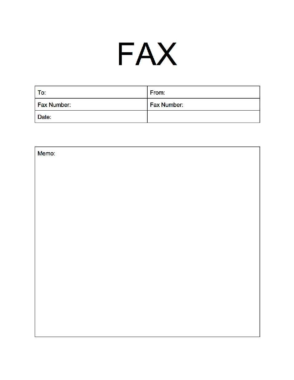 Pin by ifaxcoversheet on popularfaxcoversheets – Fax Cover Sheets Template