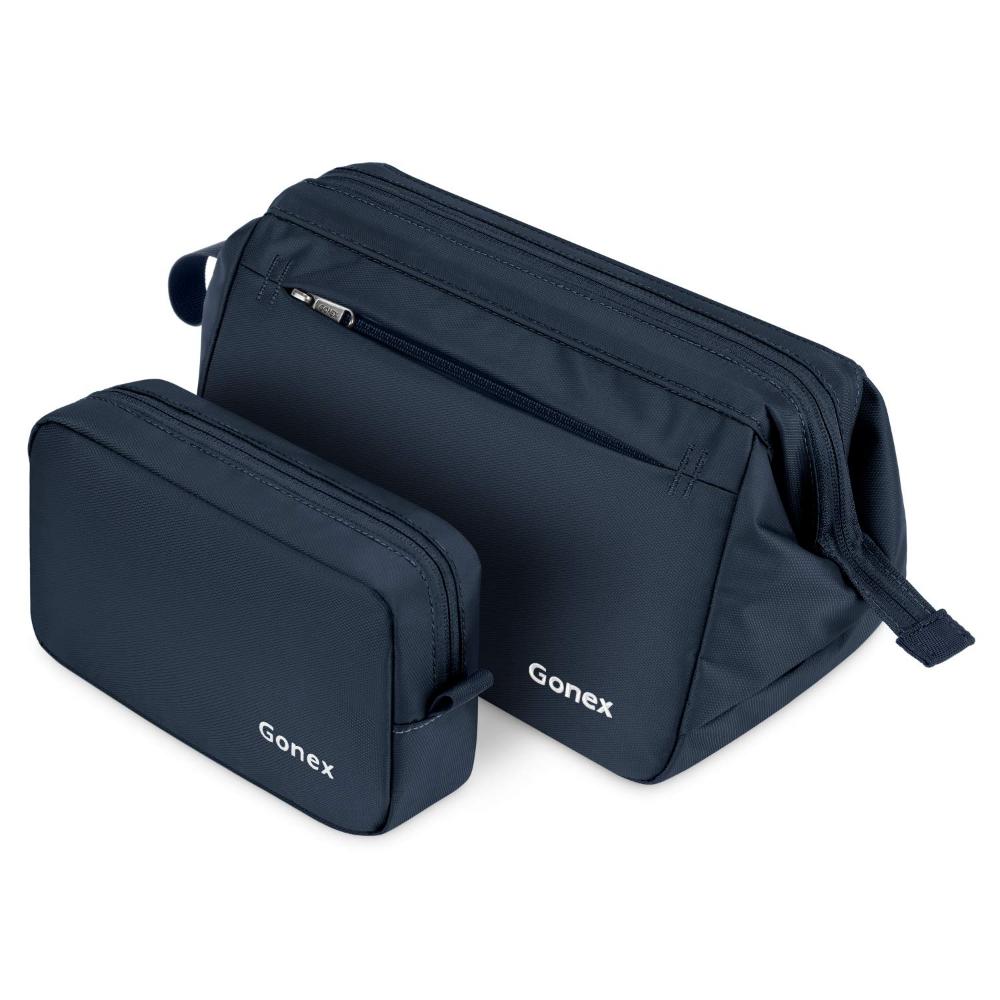 Gonex Toiletry Bag Organizer Portable Makeup Bag Shaving