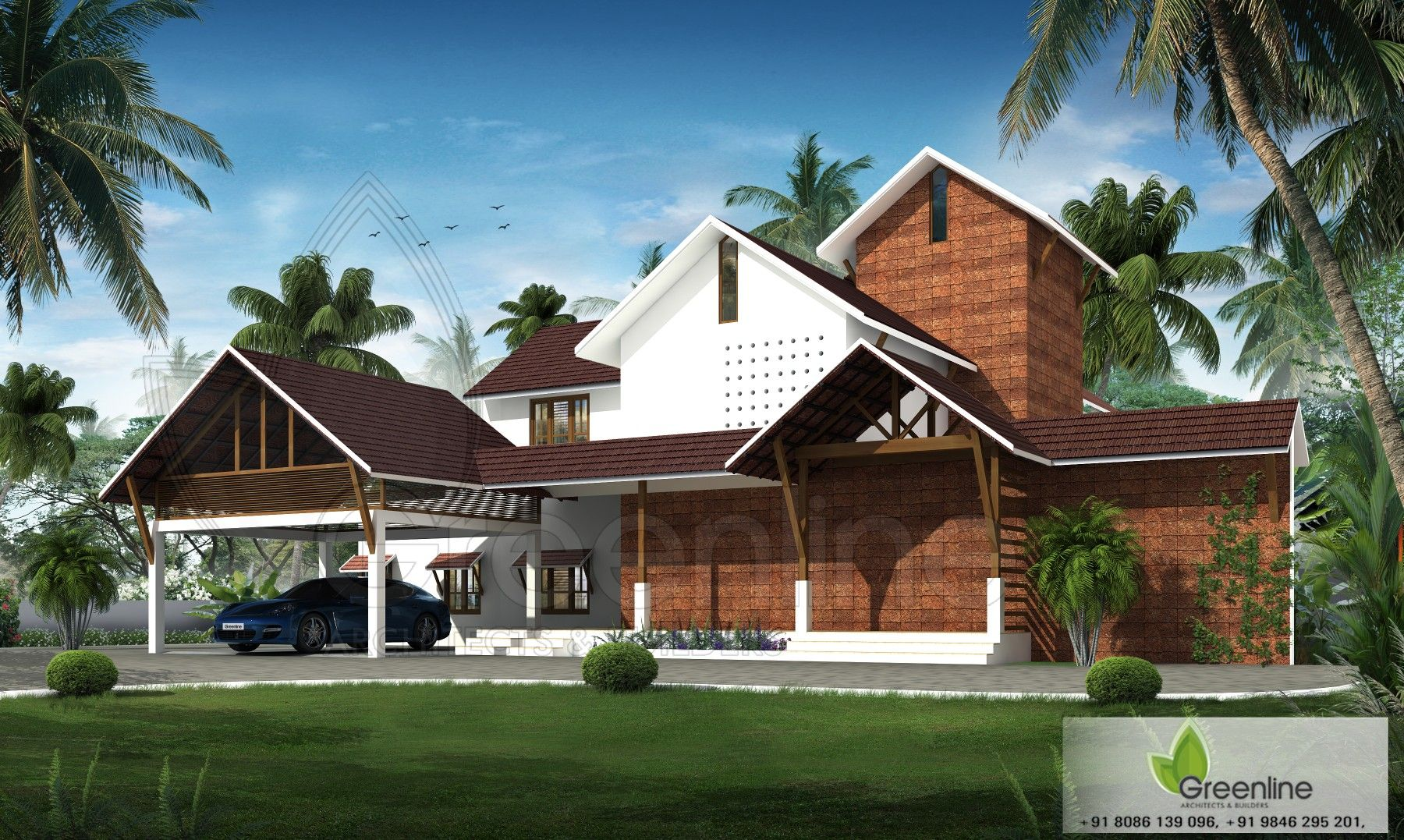 Kerala Traditional House Design Kerala House Design Kerala Traditional House Village House Design
