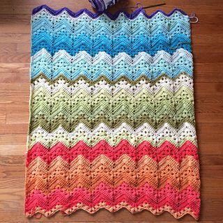 Knittinghoneybee S 6 Day Kid Blanket Knit Crochet