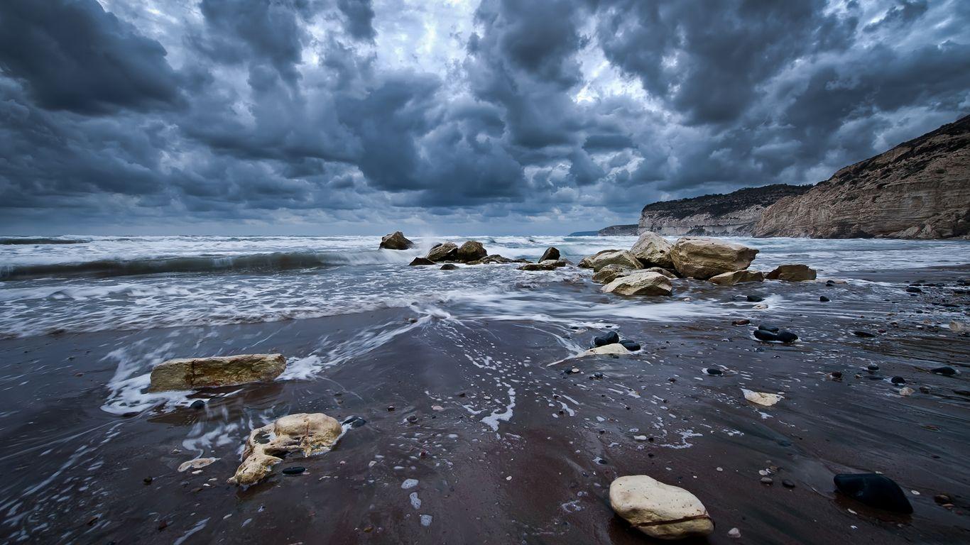 Before The Storm Ifl Macbook Pro Hintergrundbilder Strand Wallpaper Bilder