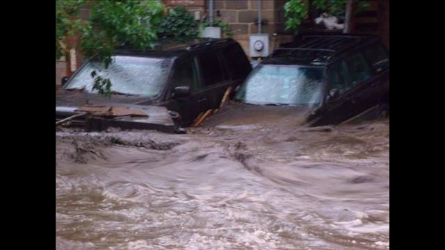 manitou flood pics | PHOTOS: Mudslide, flash flooding in