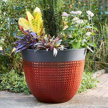 Ailani Resin Planter 2 Pack Garden Resin Planters 400 x 300
