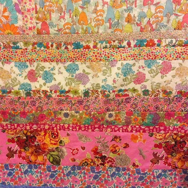 Liberty Colourwash Strip Quilt | Quilts | Pinterest | Strip quilts ... : liberty quilting fabric - Adamdwight.com