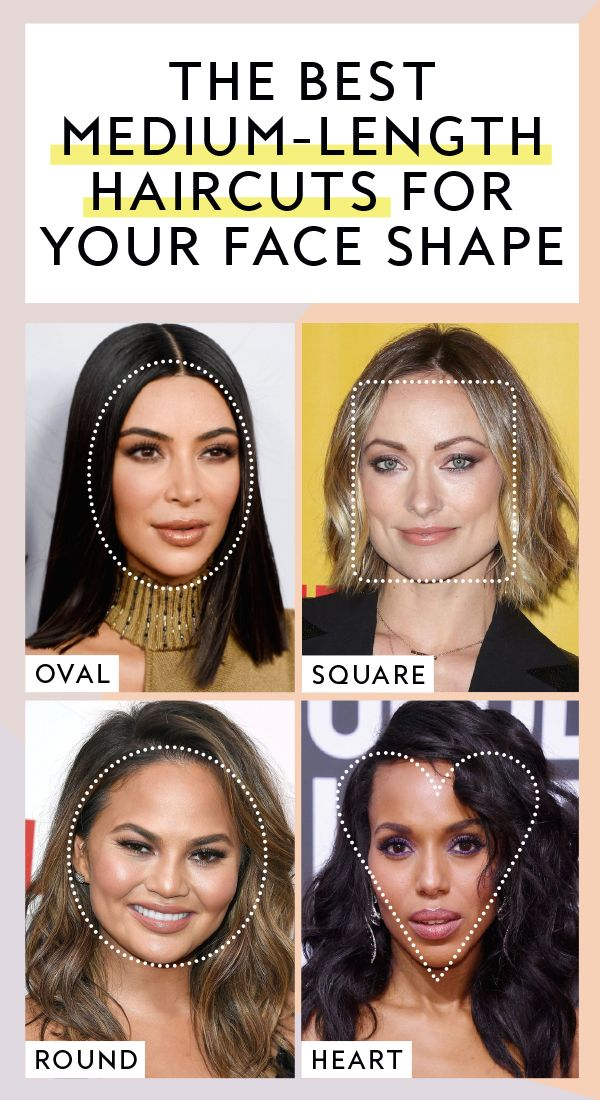 Best Medium Length Haircuts for Your Face Shape