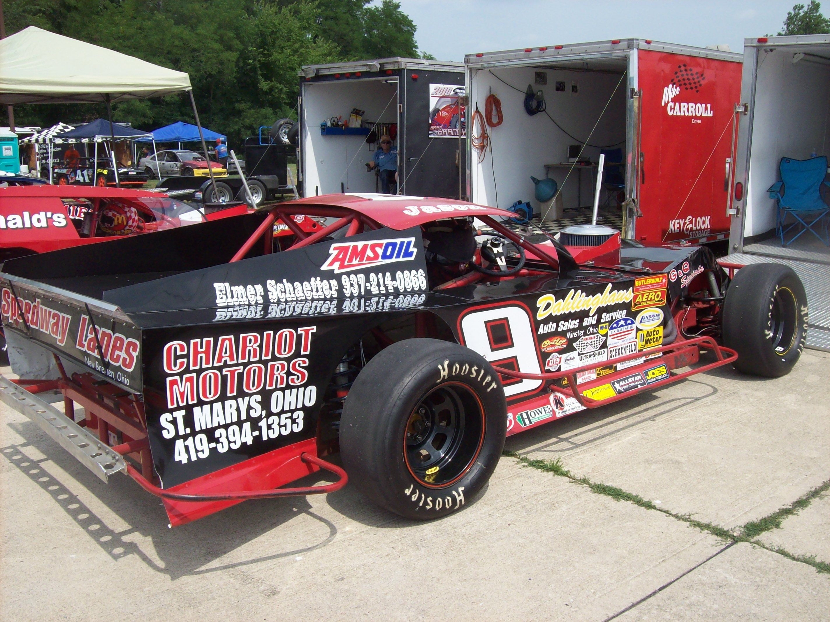 Jason Timmerman Modified at Shadybowl Speedway | Ohio Race Cars ...