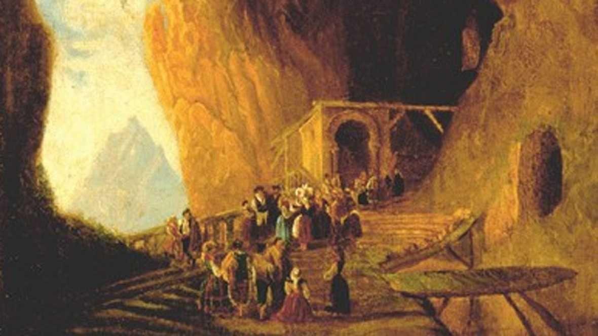 Cueva de Covadonga (P.Villaamill)