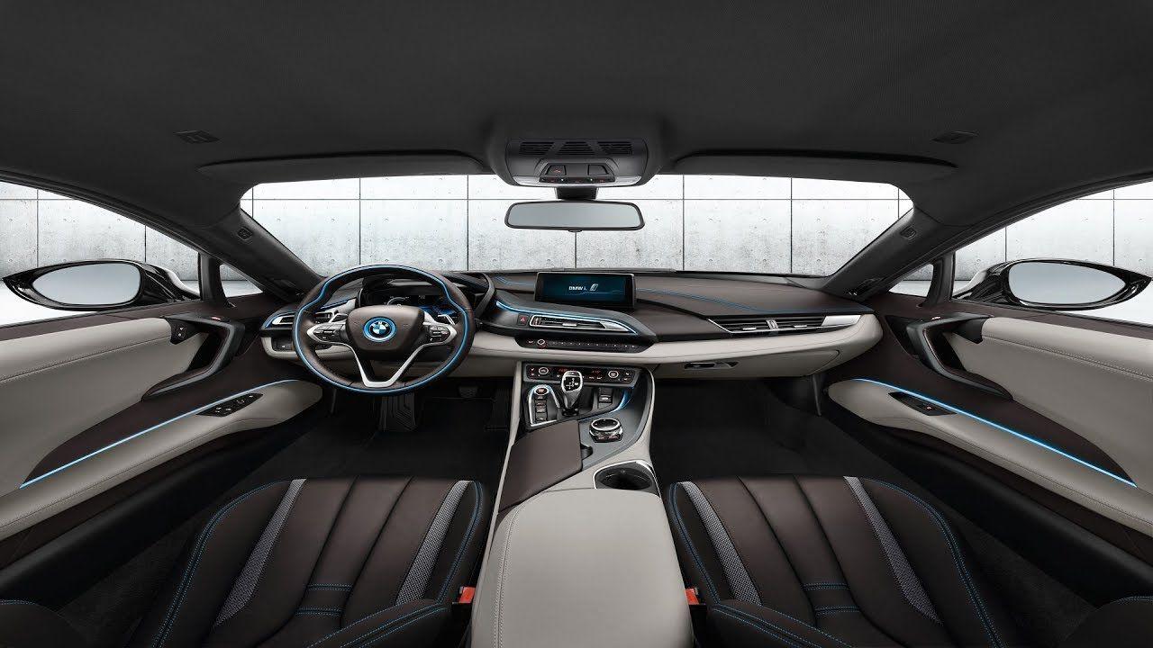 Bmw I12 I8 Edrive Coupe Sophisto Grey Interior Design Bmw I8