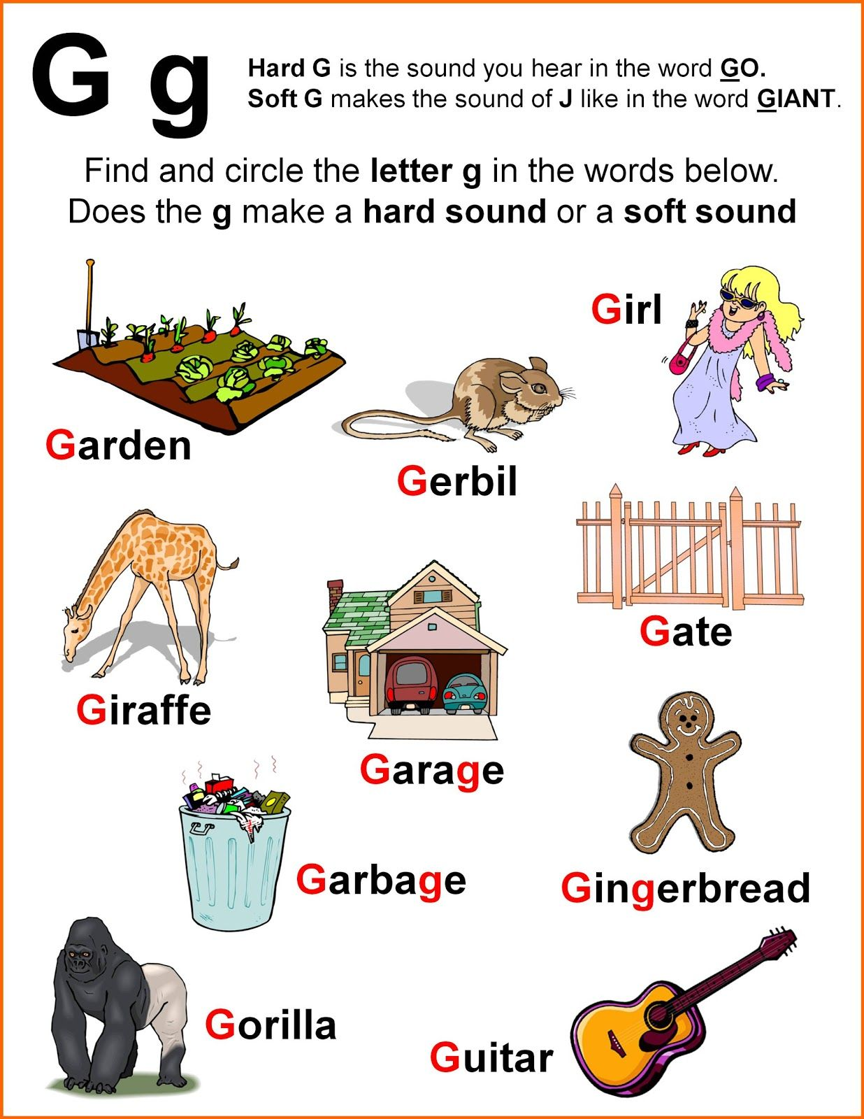 Worksheet+sounds+of+G.jpg (1236×1600) worksheets