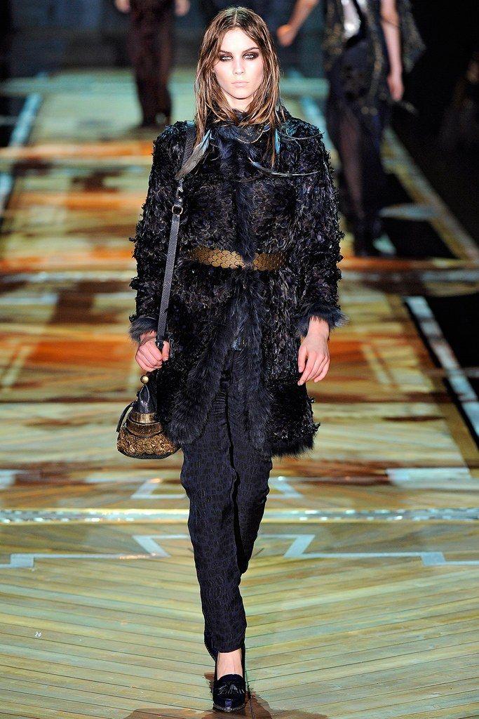 Roberto Cavalli Fall 2011 Ready-to-Wear Fashion Show - Julija Steponaviciute